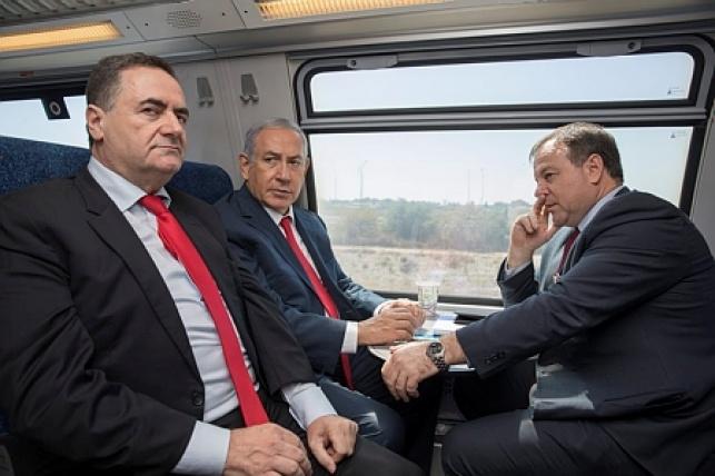 נסיעה בקו הרכבת החדש
