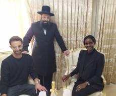 טהוניה רובל ויניב בן משה עם הרב שריקי, הבוקר