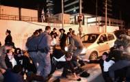 צפו: ההפגנה בבני ברק לאחר מעצר העריק