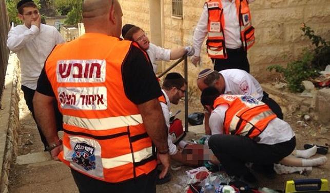 י-ם: ילד חרדי נפל מגובה ונפצע קשה