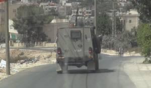 """כוחות צבא בביתר - ביתר: מחבלים יידו בקת""""ב ואבנים לעבר בית"""