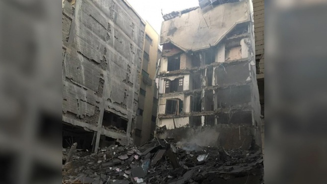 """כך צה""""ל הוריד בניינים רבי קומות בעזה • צפו"""