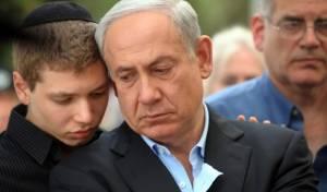 ראש הממשלה ובנו יאיר