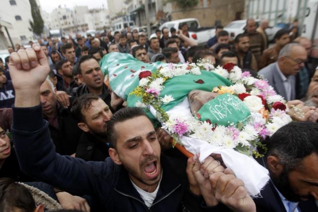 אחרי חודשיים: המחבל מהתקרית בחברון נקבר