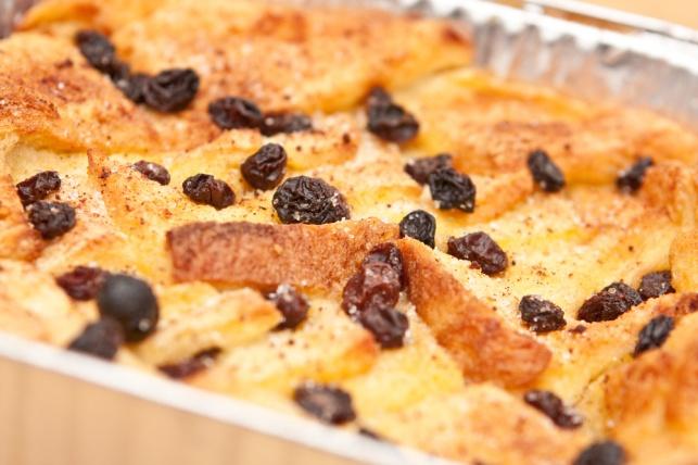פודינג לחם וחמאה קריספי