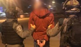 המחבל הדוקר הסגיר עצמו לידי המשטרה