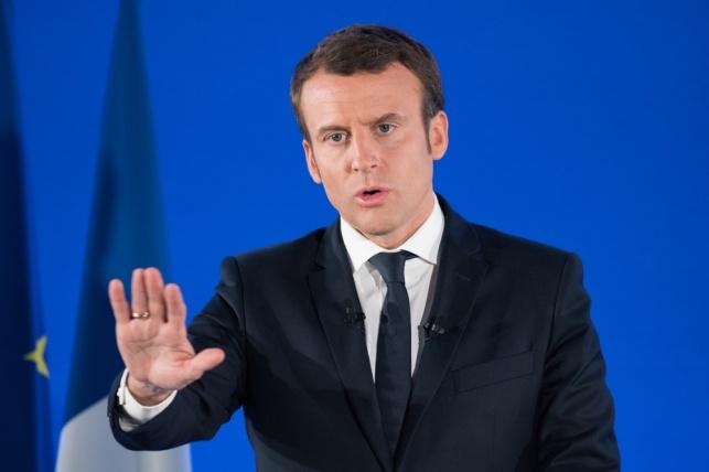 נשיא צרפת מקרון