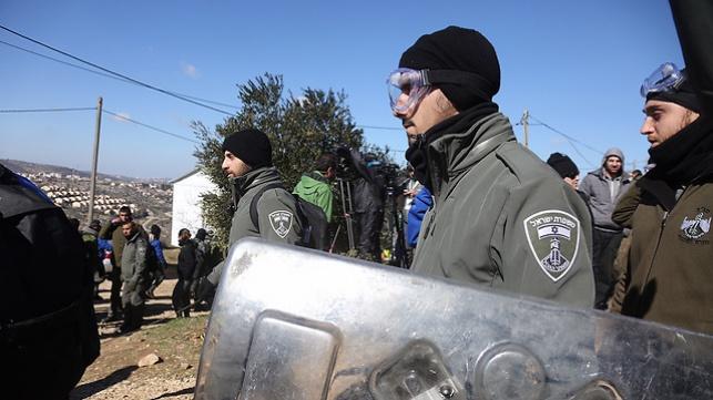 כוחות המשטרה בעמונה, הבוקר