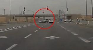 התאונה הקטלנית תועדה במצלמת דרך. צפו