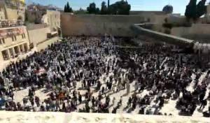 מדהים: מעמד 'ברכת הכהנים' ב-60 שניות