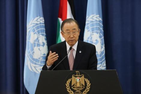 באן קי מון מכה שנית: 'הכיבוש מוביל לאלימות'