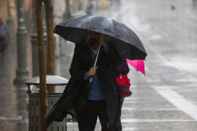 התחזית: גשמים, אובך ושלג בחרמון