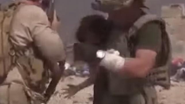 בתוך שדה הקרב: כך ניצלה ילדה קטנה. צפו