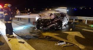 שני צעירים נהרגו בתאונה בין ארבעה רכבים