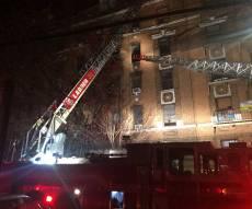 שוב שריפה בניו יורק: 12 הרוגים, 4 פצועים