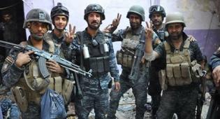 חיילים עיראקים חוגגים - הסוף של דאעש? עיראק הודיעה על ניצחון