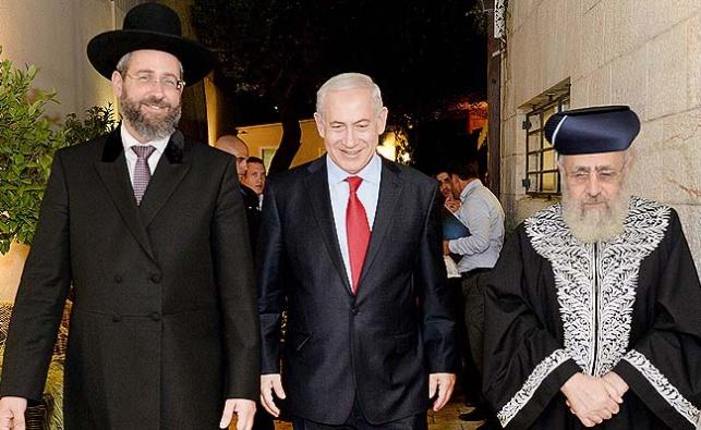 נתניהו עם הרבנים הראשיים