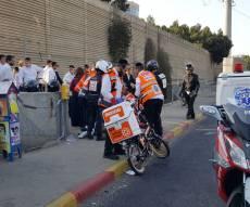 זירת התאונה היום - בת 15 נפגעה מקטנוע סמוך לגשר שקרס
