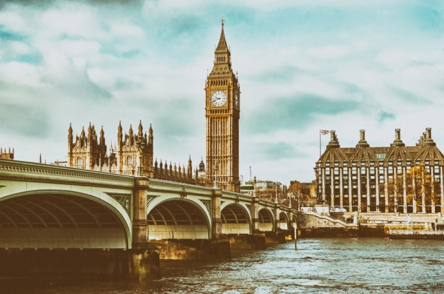 בניין הפרלמנט בלונדון
