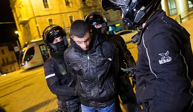 מעצר לאחר הפיגוע, אמש