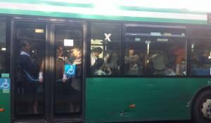 אוטובוס ירושלמי עמוס לעייפה