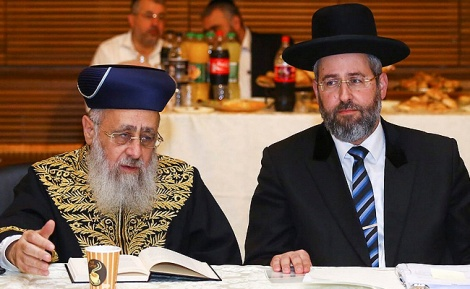 """הרבנים הראשיים - """"להעלות את שכר הרבנים בכ-25 אלף שקל"""""""
