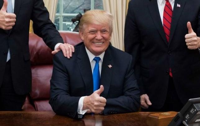 טראמפ במצב מעולה