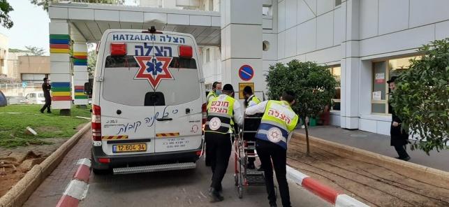 """ילד בן שמונה נפצע בחיידר ופונה לביה""""ח"""