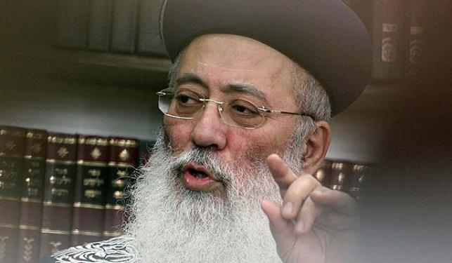 אחרי ההכחשות: הרב עמאר מתמודד