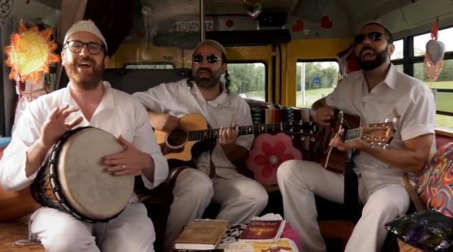 """להקת פ""""ד בסינגל קליפ חדש: """"רבי נחמן"""""""