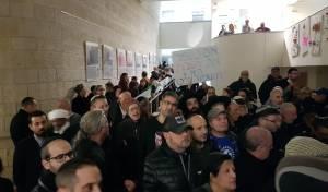 """תח""""צ בשבת: התושבים הפגינו מול המועצה"""