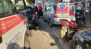 בדרך לתלמוד תורה: 2 ילדים נפצעו בתאונה