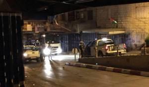 כניסת ישראלים לעיר פלסטינית. ארכיון