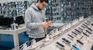 חנות לממכר סלולריים
