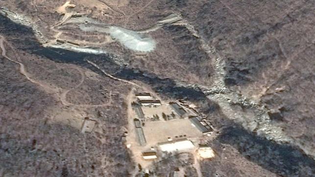 אתר הגרעין הצפון קוריאני