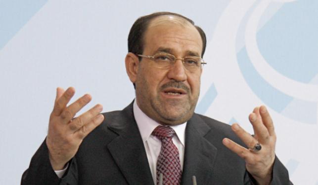 ראש ממשלת עיראק המודח נורי אל-מאליכי