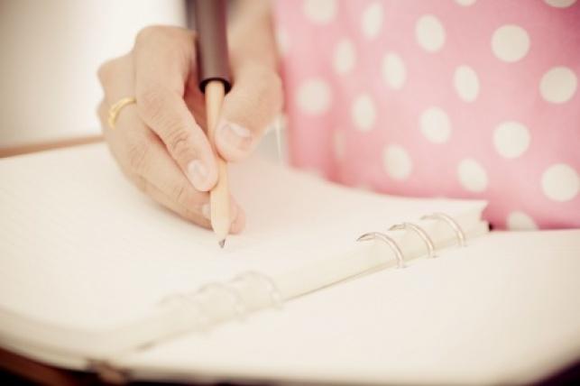 אפשר לאבחן כתב יד שלא מפסיק להשתנות?