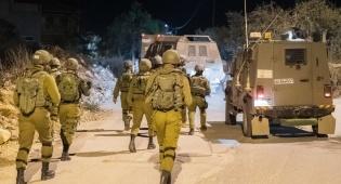 """חיילי צה""""ל בפעילות מעצרים ביו""""ש"""