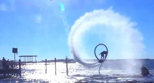 על המים: פעלולי כדורסל מדהימים