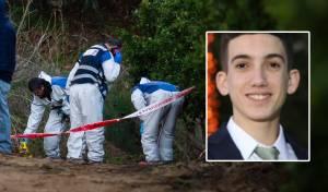 """אביתר ז""""ל על רקע הזירה בה נמצאה הגופה"""
