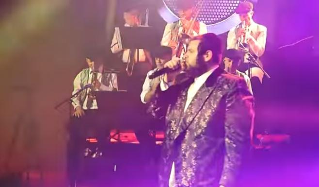 'אמת' - שמואלי אונגר מתוך הופעה בישראל