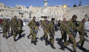 בפקודה: חיילים יסיירו בירושלים