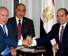 סיסי בפגישתו האחרונה עם נתניהו - בחירות במצרים: סיסי צפוי לנצח ללא בעיה
