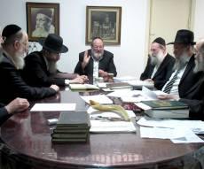 אסיפת הרבנים, אמש