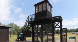 מחנה הריכוז שטוטהוף בו עבדה