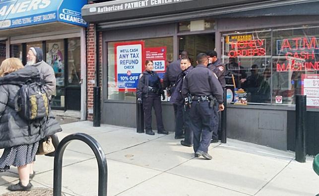 שוטרים בברוקלין. אילוסטרציה