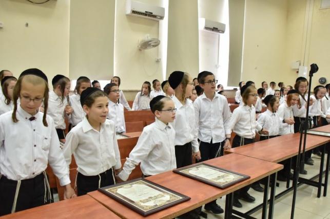 התלמידים נבחנו על 30 אלף פרקי משניות