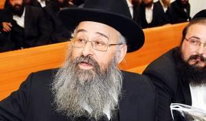 הרב אברהם לייזרזון, החרים את הביקור