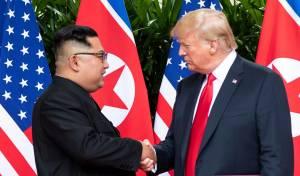 טראמפ: אין יותר איום גרעיני מצפון קוריאה