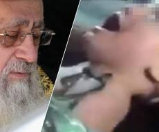 """הגר""""י יוסף וילד שנפגע בסוריה - הראשון לציון: """"חובתנו - להפסיק את הטבח"""""""